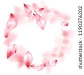 apple flower flying petals... | Shutterstock .eps vector #1190376202