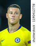 Small photo of Thessaloniki, Greece - Sept 20, 2018: Player of Chelsea Ross Barkley in action during the UEFA Europa League between PAOK vs FC Chelsea played at Toumba Stadium