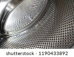 metal perforated drum washing... | Shutterstock . vector #1190433892