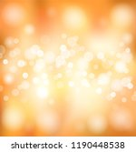 festive autumn background for... | Shutterstock .eps vector #1190448538