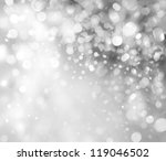 lights on grey background. | Shutterstock . vector #119046502