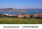 beautiful panoramic view of the ... | Shutterstock . vector #1190498005