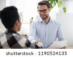 businessman boss advisor... | Shutterstock . vector #1190524135