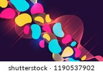 abstract hipster technological... | Shutterstock .eps vector #1190537902