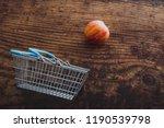 grocery store mini shopping... | Shutterstock . vector #1190539798