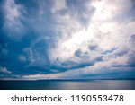 clouds on the coast of odessa | Shutterstock . vector #1190553478