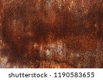 corroded white metal background.... | Shutterstock . vector #1190583655