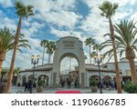 hollywood  california  usa  ... | Shutterstock . vector #1190606785