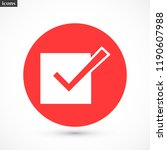 check mark vector icon 10 eps