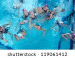 happy children kids group  at... | Shutterstock . vector #119061412