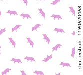 triceratops icon in pattern...
