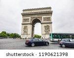 paris  france   june 27  2017 ... | Shutterstock . vector #1190621398