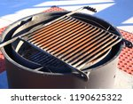 campground fire pit barbeque... | Shutterstock . vector #1190625322
