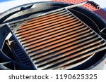 campground fire pit barbeque... | Shutterstock . vector #1190625325