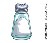 salt shaker isolated | Shutterstock .eps vector #1190653912