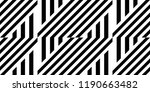 seamless pattern with striped... | Shutterstock .eps vector #1190663482