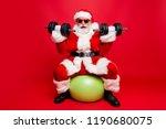 cheerful sporty muscular virile ... | Shutterstock . vector #1190680075