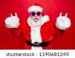 heavy metal rock on  stylish... | Shutterstock . vector #1190681245