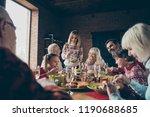 noel evening  night family... | Shutterstock . vector #1190688685