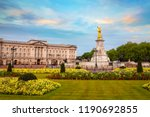 buckingham palace in london  uk | Shutterstock . vector #1190692855