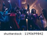 best party mood  low angle top...   Shutterstock . vector #1190699842