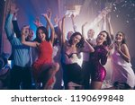 welcome to the best night party ... | Shutterstock . vector #1190699848