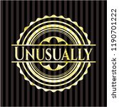 unusually gold emblem or badge   Shutterstock .eps vector #1190701222