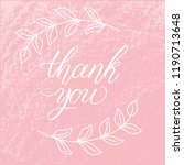 hand sketched lettering...   Shutterstock .eps vector #1190713648