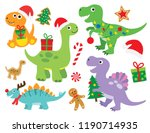 vector illustration of cute... | Shutterstock .eps vector #1190714935