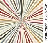 retro sunburst background... | Shutterstock .eps vector #1190735935