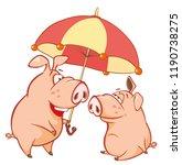 vector illustration of a cute...   Shutterstock .eps vector #1190738275