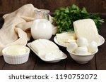 natural homemade milk soft... | Shutterstock . vector #1190752072