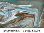 marble abstract acrylic... | Shutterstock . vector #1190753695