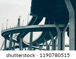 sky street   overpass on... | Shutterstock . vector #1190780515