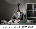 conceptual photo illustrating... | Shutterstock . vector #1190783602