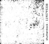 grunge texture black and white | Shutterstock .eps vector #1190795338