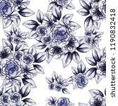 abstract elegance seamless... | Shutterstock . vector #1190832418