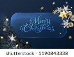 vector illustration of banner... | Shutterstock .eps vector #1190843338