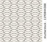 vector seamless pattern. modern ... | Shutterstock .eps vector #1190844388