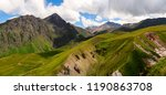 panoramic landscape of great... | Shutterstock . vector #1190863708