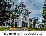 maputo central train station ...   Shutterstock . vector #1190866372