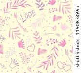 seamless vector pattern....   Shutterstock .eps vector #1190873965