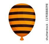halloween balloon helium with... | Shutterstock .eps vector #1190888098