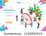 isometric flat vector concept... | Shutterstock .eps vector #1190902915