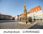 morning view on the market... | Shutterstock . vector #1190904682
