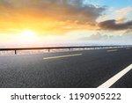 panoramic city skyline and...   Shutterstock . vector #1190905222