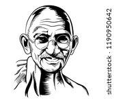 vector face illustration... | Shutterstock .eps vector #1190950642