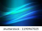 light blue  green vector... | Shutterstock .eps vector #1190967025