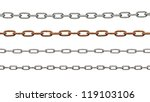 Collection Of Metal Chain Part...