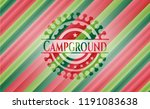 campground christmas colors... | Shutterstock .eps vector #1191083638
